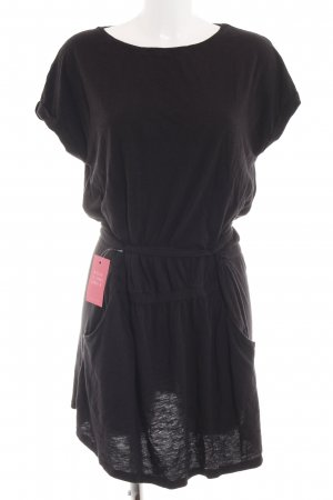 Juvia Shirtkleid schwarz Casual-Look