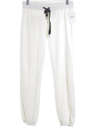 Juvia Sporthose wollweiß schlichter Stil