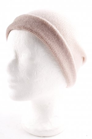 Juvia Knitted Hat dusky pink-cream color gradient casual look