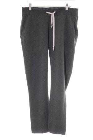 Juvia Pantalon de jogging gris anthracite style décontracté