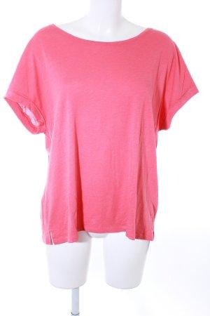 Juvia T-Shirt hellrot meliert klassischer Stil