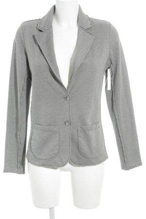 Juvia Wachsjacke grau schlichter Stil
