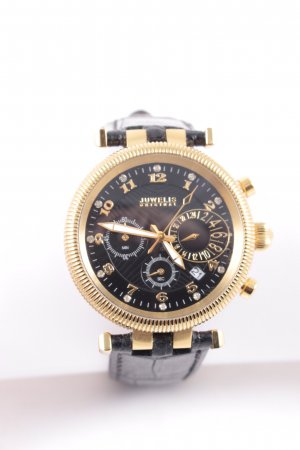Juwelis Original Uhr mit Lederarmband mehrfarbig Eleganz-Look
