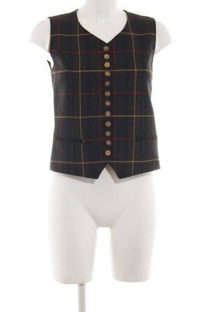 K & K Kaiserjäger Gilet de costume motif à carreaux style d'affaires