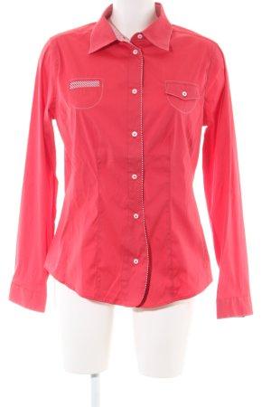 K & K Kaiserjäger Camicia a maniche lunghe rosso stile casual