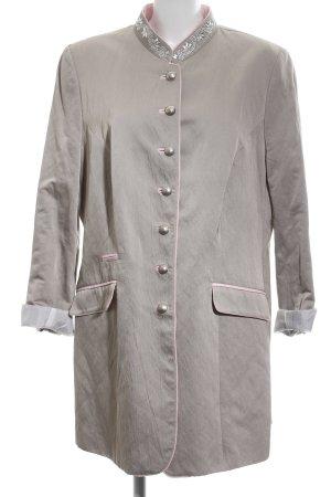 K & K Kaiserjäger Traditional Jacket light grey-pink casual look