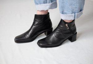 Kennel + schmenger Zipper Booties black leather