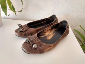 Kennel + schmenger Ballerinas silver-colored-brown