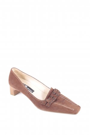K+S Shoes Pumps braun Casual-Look