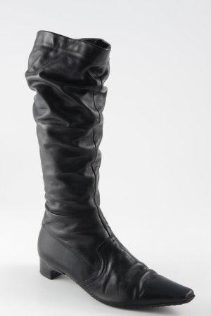 K+S Shoes Jackboots black simple style