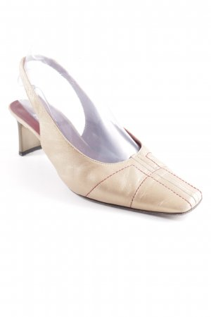 K+S Shoes Slingback-Pumps mehrfarbig Business-Look