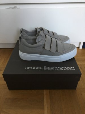 K&S Sneaker grau mit Plateausohle