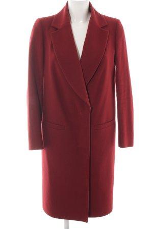 K studio Wool Coat red elegant