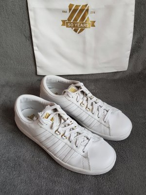 K-Swiss Hoke 50th Sneaker Weiß Gold Gr. 42