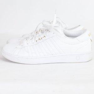 K Swiss Sneaker Gr. 41 weiß (18/9/109)