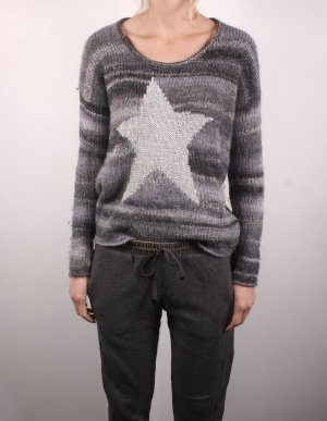 K1_6 Princess goes Hollywood Damen Pullover in silber Gr. 38 M