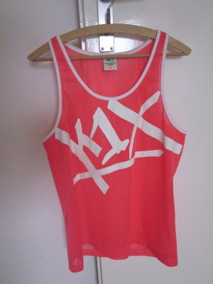 K1X Cut Out Tank Top Neon Pink