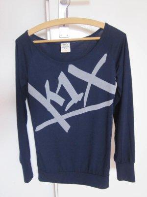 K1X Dunkelblauer Sweater