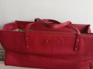 Kade Spade Handtasche. Leder. Rot
