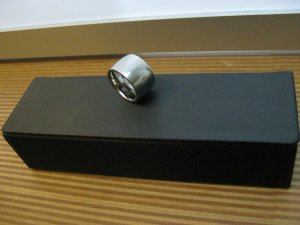Zilveren ring zilver Edelstaal