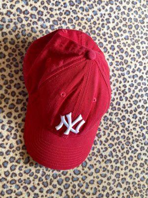 New Era Baseball Cap red