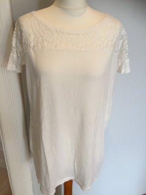 KAFE STIGUR (IMPRESSIONEN) Shirt, weiß, Gr. S