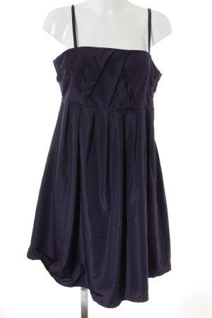 Kaffe Abendkleid dunkelviolett Elegant