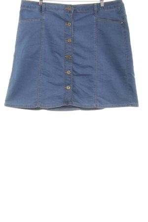 """Kaffe Denim Skirt """"NOELLE DENIM SKIRT"""" cornflower blue"""