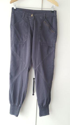 Kaffe Nigella baggy pants, size 34, petrol gray