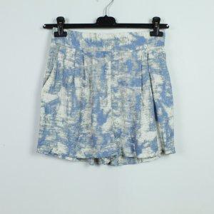 KAFFE Shorts Gr. 34 hellblau gemustert (19/07/292)