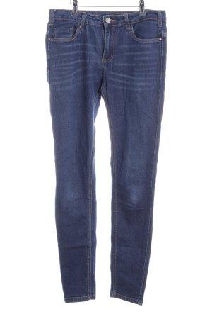 Kaffe Skinny Jeans dunkelblau Casual-Look