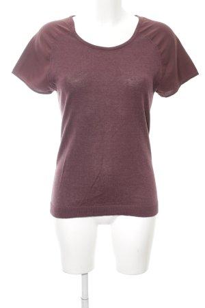 Kaffe Strickshirt rot Casual-Look