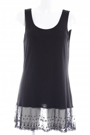 Kaffe Strappy Top black casual look