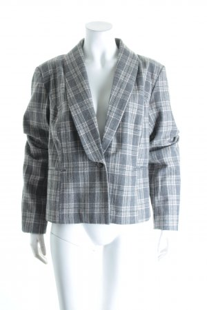 Kaffe Woll-Blazer Karomuster Business-Look