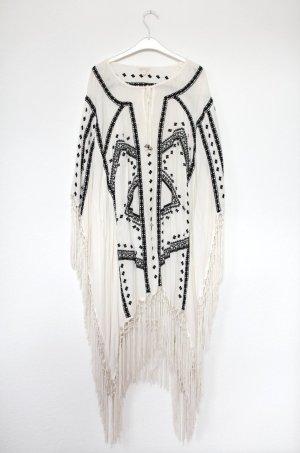 Kaftan Tunika Kimono von Monsoon Vintage Hippie Stil Gr. M Oversized
