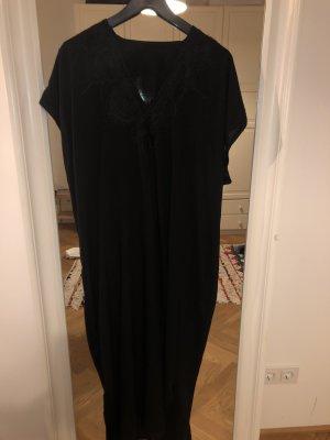 Kaftan - Tunika - Strandkleid - Djellaba Original aus Marokko Schwarz