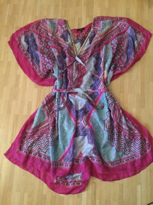 1-2-3 Paris Tunic Blouse multicolored silk