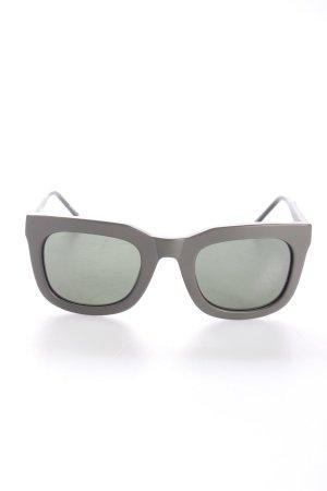 """Kaibosh eckige Sonnenbrille """"Chips & Salsa Khaki"""" olivgrün"""