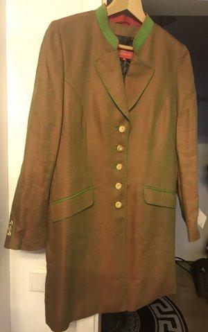 Kaiserjäger Damen Trachten Jacke Leinen Mantel Neu 44