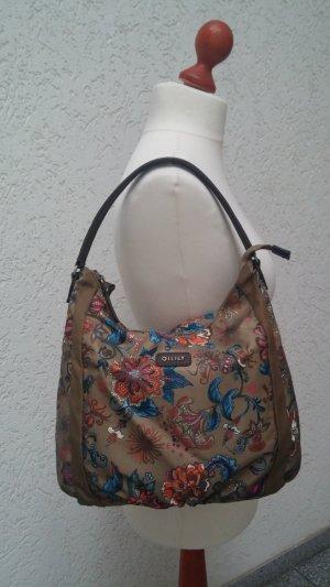 Kakifarbene/ gemusterte Tasche von OILILY