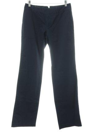 Kala Pantalon taille haute bleu foncé style décontracté