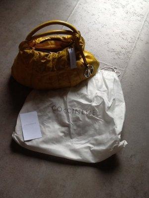 Kalbsleder Handtasche in Gelb