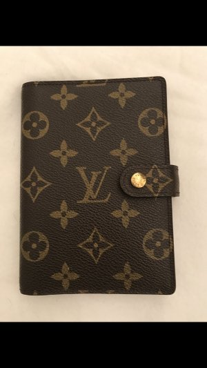 Louis Vuitton Tarjetero marrón-beige