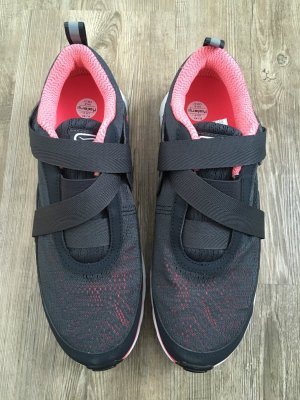Kalenji Velcro Sneakers anthracite-pink