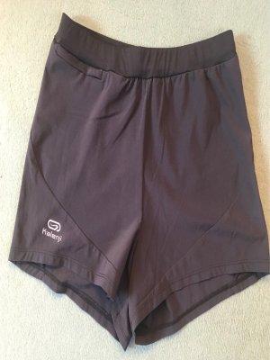 Kalenji - kurze schwarze Sporthose
