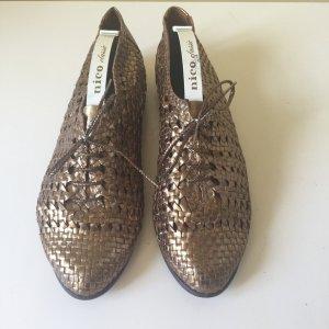 Kalliste geflochtene Sommer Schuhe Gr. 40 Bronze