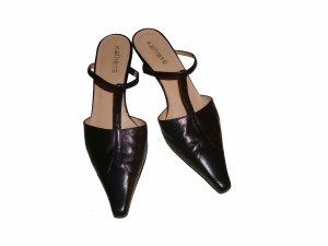 T-Strap Pumps black leather