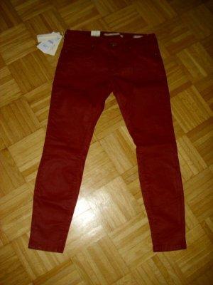 """Kaminrote, """"Coated"""" Jeans von Zara, neu mit Etikett, zu verkaufen!!!"""