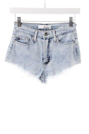 Kancan USA Denim Shorts blue acid wash