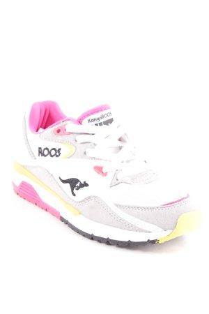 Kangaroos Schnürsneaker mehrfarbig sportlicher Stil